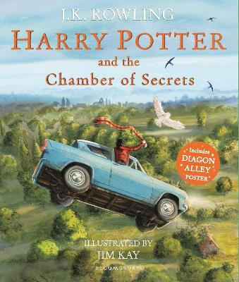 Harry Potter and the Chamber of Secrets: Illustrated Edition - Rowling, J.K.