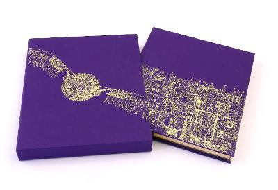 Harry Potter and the Philosopher's Stone: Deluxe Illustrated Slipcase Edition - Rowling, J. K., and Kay, Jim (Illustrator)