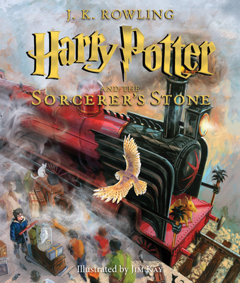 Harry Potter and the Sorcerer's Stone: The Illustrated Edition (Harry Potter, Book 1): The Illustrated Edition - Rowling, J K