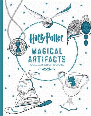 Harry Potter Artifacts Coloring Book - Scholastic