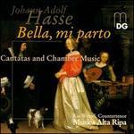 Hasse: Bella, mi parto - Anne Röhrig (violin); Bernward Lohr (harpsichord); Juris Teichmanis (cello); Kai Wessel (counter tenor); Musica Alta Ripa;...