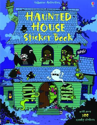 Haunted House Sticker Book - Rogers, Kirsteen, and Barrance, Reuben (Designer)