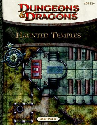 Haunted Temples Map Pack: A 4th Edition Dungeons & Dragons Accessory - Wizards RPG Team
