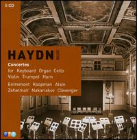 Haydn: Concertos for Keyboard, Organ, Cello, Violin, Trumpet, Horn [Box Set] - Dale Clevenger (horn); Frédéric Lodéon (cello); Georges Barboteu (horn); Gilbert Coursier (horn); Marie-Claire Alain (organ);...