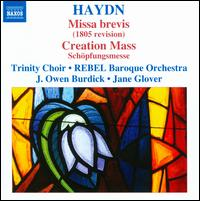 Haydn: Masses, Vol. 7 - Missa Brevis, Creation Mass - Andrew Nolan (bass); Ann Hoyt (soprano); Daniel Mutlu (tenor); Julie Liston (soprano); Kirsten Solleck-Avella (alto);...
