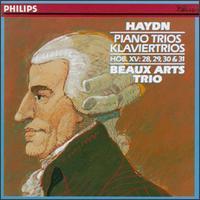 Haydn: Piano Trios Hob. XV:28-31 - Beaux Arts Trio; Bernard Greenhouse (cello); Isidore Cohen (violin); Menahem Pressler (piano)