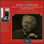 Haydn: Symphonien Hob. I/39 & I/60; Sinfonia concertante Hob. I/105