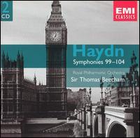 Haydn: Symphonies 99-104 - Royal Philharmonic Orchestra; Thomas Beecham (conductor)