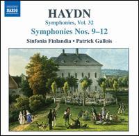 Haydn: Symphonies Nos. 9-12 - Finlandia Sinfonietta; Patrick Gallois (conductor)