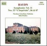 Haydn: Symphonies, Vol. 11 - Nos. 53, 86 & 87