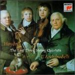 Haydn: The Last 3 String Quartets