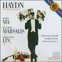 Haydn: Three Favorite Concertos - Cho-Liang Lin (violin); English Chamber Orchestra (chamber ensemble); Wynton Marsalis (trumpet); Yo-Yo Ma (cello)