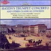 Haydn: Trumpet Concerto - John Anderson (oboe d'amore); John Wallace (trumpet); Leslie Pearson (harpsichord); Meyrick Alexander (bassoon);...
