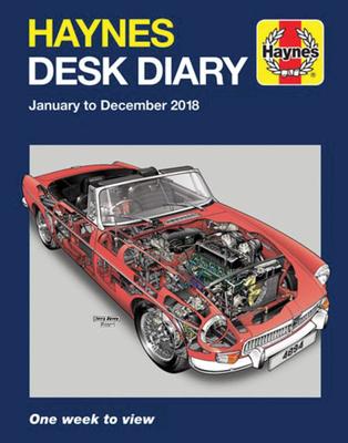 Haynes 2018 Desk Diary - Haynes