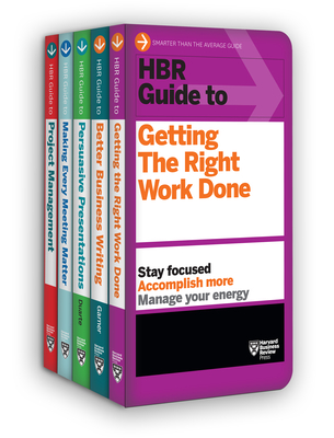 HBR Guides to Being an Effective Manager Collection - Review, Harvard Business, and Garner, Bryan A, and Duarte, Nancy