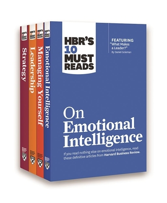 Hbr's 10 Must Reads Leadership Collection (4 Books) (Hbr's 10 Must Reads) - Review, Harvard Business, and Goleman, Daniel, Prof., and Drucker, Peter F
