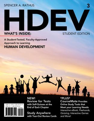 Hdev3 (with Coursemate Printed Access Card) - Rathus, Spencer A