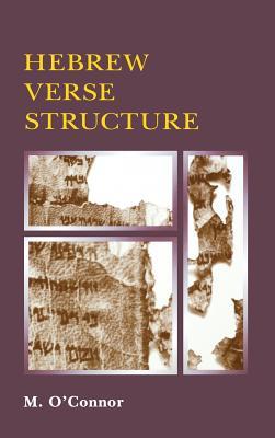 Hebrew Verse Structure - O'Connor, Michael Patrick