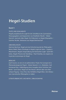 Hegel-Studien Band 3 (1965) - Poggeler, Otto (Editor), and Nicolin, Friedhelm (Editor)
