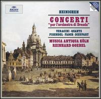 """Heinichen: Concerti """"per l'orchestra di Dresda"""" - Musica Antiqua Köln; Susanne Regel (oboe); Reinhard Goebel (conductor)"""