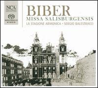 Heinrich Ignaz Franz von Biber: Missa Salisburgensis - Alfredo Grandini (bass); Caroline Pelon (soprano); Elisabetta Tiso (soprano); Furio Zanasi (bass); La Stagione Armonica;...