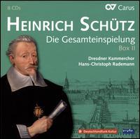 Heinrich Schütz: Die Gesamteinspielung Box 2 - Anna Schall (flute); Birgit Jacobi-Kircheis (soprano); Cenek Svoboda (tenor); Clemens Schlemmer (dulcian);...