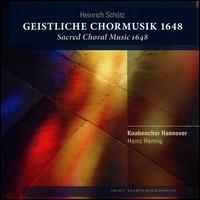 Heinrich Schütz: Geistliche Chormusik, 1648 - Almut Bergmeier (violin); Andreas Krauthoff (bass); Anne Röhrig (violin); Ansgar Pfeiffer (soprano);...