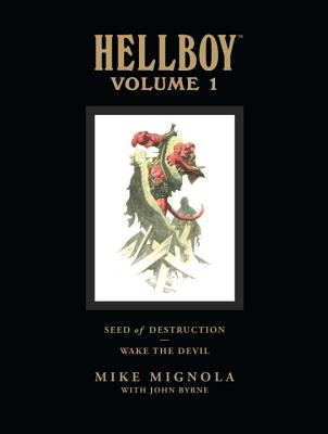 Hellboy Library Volume 1: Seed of Destruction and Wake the Devil -