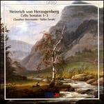 Henrich von Herzogenberg: Cello Sonatas, Nos. 1-3