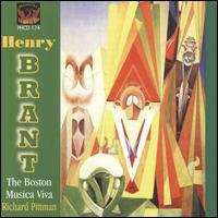 Henry Brant - Boston Musica Viva; Michael Ingham (baritone)