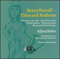Henry Purcell: Odes and Anthems - Alfred Deller (counter tenor); April Cantelo (soprano); Deller Consort; George Eskdale (trumpet); John Frost (bass);...