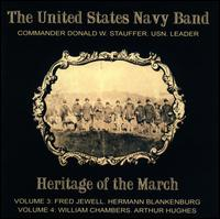 Heritage of the March, Vols. 3 & 4 - United States Navy Band; Donald W. Stauffer (conductor)