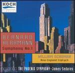 Herrmann: Symphony No. 1; Schuman: New England Triptych