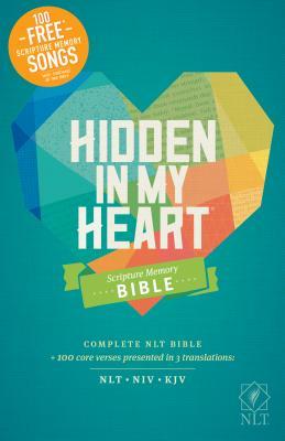 Hidden in My Heart Scripture Memory Bible NLT - Elkins, Stephen (Notes by)