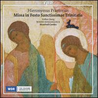 Hieronymus Praetorius: Missa in Festo Sanctissimae Trinitatis - Volker Jänig (organ); Weser-Renaissance; Manfred Cordes (conductor)