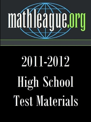High School Test Materials 2011-2012 - Sanders, Tim