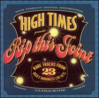 High Times Presents Rip This Joint - Various Artists
