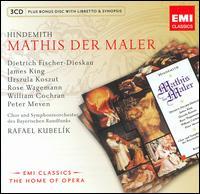 Hindemith: Mathis der Maler - Alexander Malta (vocals); Dietrich Fischer-Dieskau (baritone); Donald Grobe (vocals); Gerd Feldhoff (vocals);...