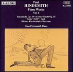 Hindemith: Piano Works, Vol. 1