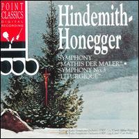 "Hindemith: Symphony ""Mathis der Maler""; Honegger: Symphony No. 3 - Austrian Radio Symphony Orchestra; Milan Horvat (conductor)"