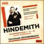 Hindemith, Vol. 1 : Kammermusik I, II, III; Kleine Kammermusik