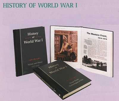 History Of World War I Book By Marshall Cavendish Corporation
