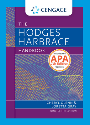 Hodges Harbrace Handbook, 2016 MLA Update - Glenn, Cheryl, and Gray, Loretta