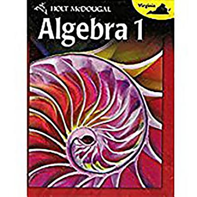 Holt McDougal Algebra 1 Virginia: Student Edition 2012 - Holt McDougal (Prepared for publication by)