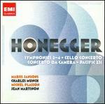 Honegger: Symphonies Nos. 2-4; Cello Concerto; Concerto da Camera & Others