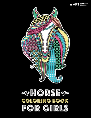 Horse Coloring Book For Girls Advanced Coloring Pages For Tweens