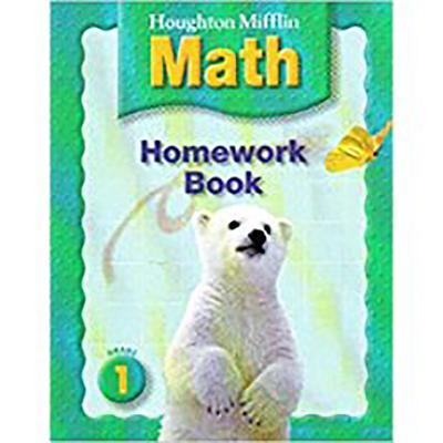Houghton Mifflin Math: Homework Book (Consumable) Level1 - Houghton Mifflin Company (Prepared for publication by)
