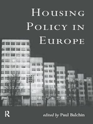 Housing Policy in Europe - Balchin, Paul (Editor)