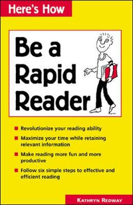 How to be a Rapid Reader - Redway, Kathryn