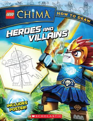 How to Draw Heroes and Villains - Zalme, Ron (Illustrator)